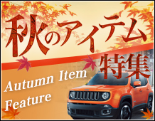 秋のアイテム特集