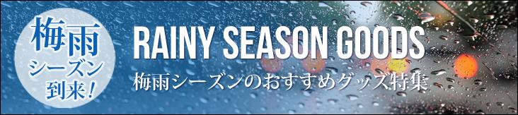 梅雨シーズン到来